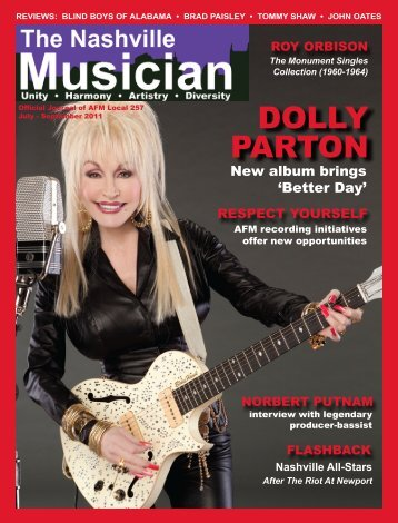 DOLLY PARTON - Nashville Musicians Association