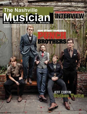 January–March 2013 - Nashville Musicians Association