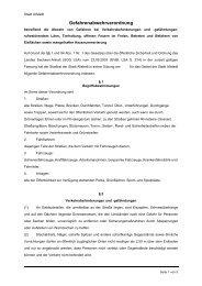 Gefahrenabwehrverordnung - Stadt Allstedt
