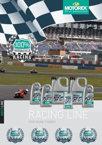 RACING LINE - Motorex