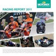 RACING REpORT 2011 - Motorex