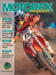 Magazin 71 dt. 50 - Motorex