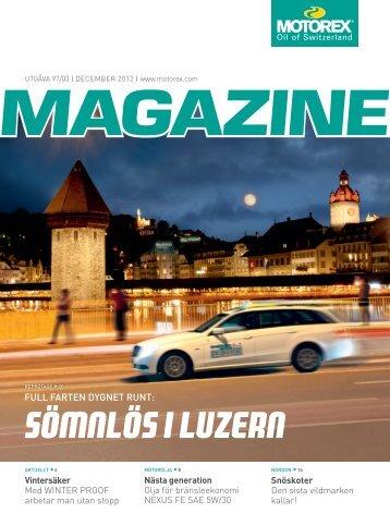 Sömnlös i Luzern - Motorex