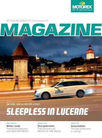 Sleepless in Lucerne - Motorex