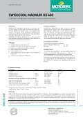 SWISSCOOL MAGNUM UX 400 - Motorex - Page 2