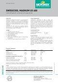 SWISSCOOL MAGNUM UX 400 - Motorex - Page 4