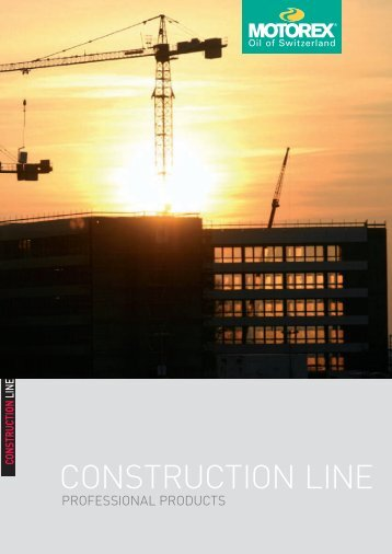 CONSTRUCTION LINE - Motorex