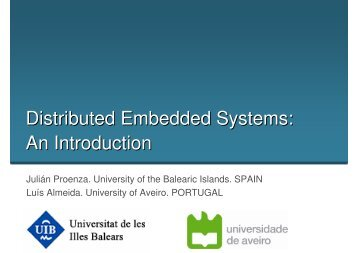 Distributed Embedded Systems: An Introduction