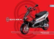 Gilera Runner SP brugermanual - Scootergrisen