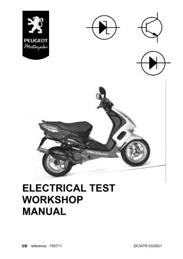 peugeot elystar 125 workshop manual