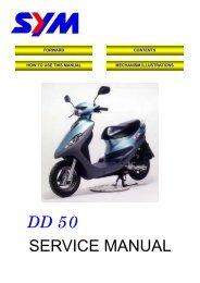 Sym DD Servicemanual - Scootergrisen