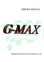 PGO G-Max (M2) servicemanual - Scootergrisen