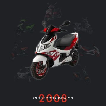 PGO scooter katalog 2008 - Scootergrisen
