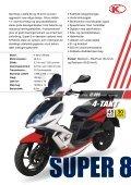 Kymco scootere og motorcykler katalog 2012 - Scootergrisen - Page 5