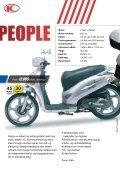 Kymco scootere og motorcykler katalog 2012 - Scootergrisen - Page 6