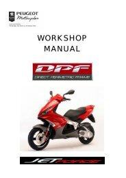 Peugeot workshop manual Jet Force (756739) - Scootergrisen