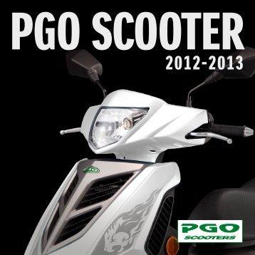 PGO scooter katalog 2012-2013 - Scootergrisen