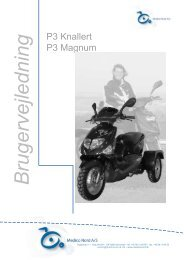 P3 brugermanual - Scootergrisen