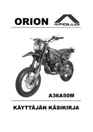 Orion Apollo A36A50M - Scootergrisen