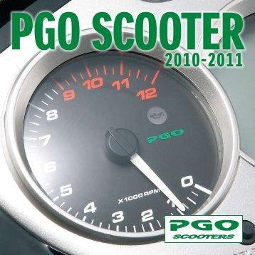 PGO scooter katalog 2010-2011 - Scootergrisen