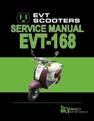 EVT 168 servicemanual - Scootergrisen