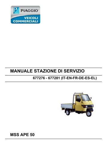 piaggio fly 4t servicemanual scootergrisen rh yumpu com Piaggio Fly 50 Top Speed Piaggio Fly Parts