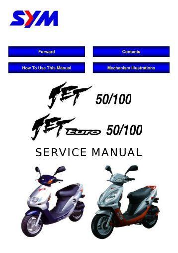 Aprilia Scarabeo 200 Service Manual