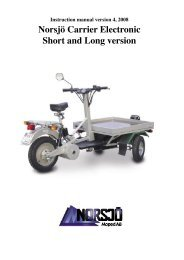Instruction manual - Norsjö Moped AB