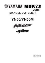 YN50/YN50M - Scootergrisen
