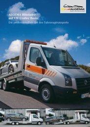 ALGEMA Blitzlader auf VW Crafter Basis - EDER ...