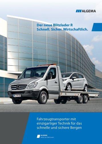 Der neue Blitzlader R Schnell. Sicher. Wirtschaftlich ... - Eder GmbH