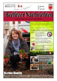Beelitzer Nachrichten - April 2013