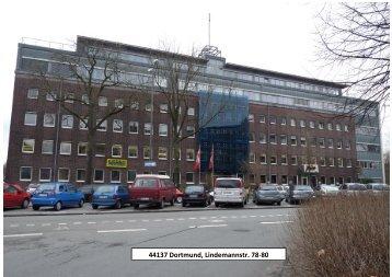 44137 Dortmund, Lindemannstr. 78-80