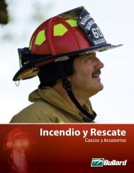 Fire and Rescue Face Protection Incendio y Rescate - Bullard