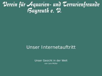 Benutzer - Aquarien- und Terrarienverein Bayreuth