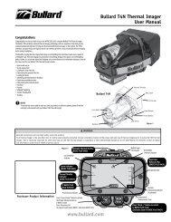 Bullard t4N thermal Imager User Manual www.bullard.com