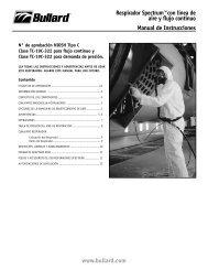 Bombas Free-Air® Manual de Instrucciones - Bullard