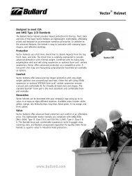 www.bullard.com Vector® Helmet