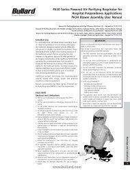 PA30 Series Powered Air-Purifying Respirator for Hospital ... - Bullard