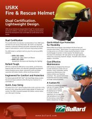 USRX Fire & Rescue Helmet - Bullard