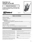 88E Series Airline Respirator User Manual - Bullard - Page 7