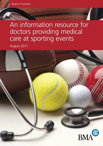 Sporting events resource - BMA