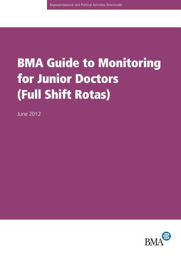 ensure that your hours are monitored - BMA