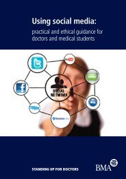 Social Media Guidance - BMA