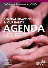 Download the LMC conference agenda - BMA