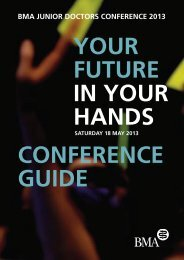 Conference guide - BMA