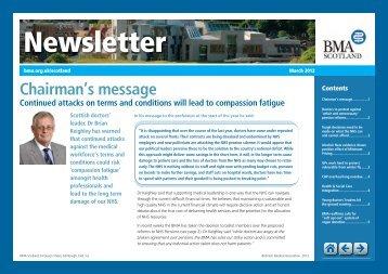 BMA Scotland Newsletter