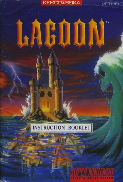 Lagoon Manual - Mike's RPG Center
