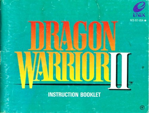 Dragon Warrior II - Mike's RPG Center