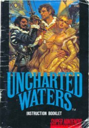 Uncharted Waters - Mike's RPG Center